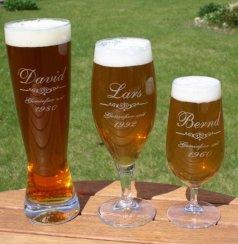 Das persönliche Bierglas