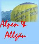 Ballonfahrt im Allg�u & den Alpen