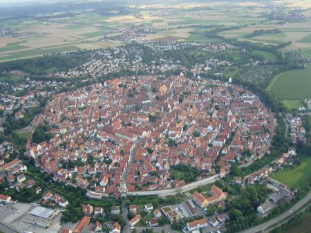 Luftbilder von Nördlingen