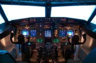 Flugsimulator Boeing 737 f�r Zwei