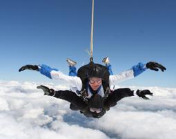 Freefall Fallschirm-Tandemsprung