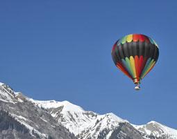 Ballonfahren f�r 4 Personen