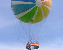 Fesselballon Hi Flyer f�r Zwei - der Welt Ballon in Berlin