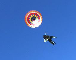 Ballon Fallschirm-Tandemsprung