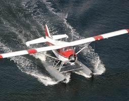 Wasserflugzeug- Rundflug-Faszination Wasserfliegen