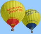Ballonfahrten in Bayern & Baden W�rttemberg