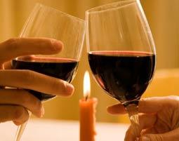 Candle Flight Dinner f�r Zwei-Romantik pur