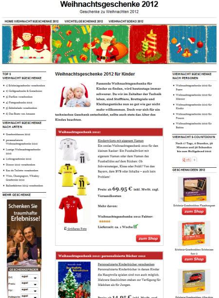 weihnachtsgeschenke2012
