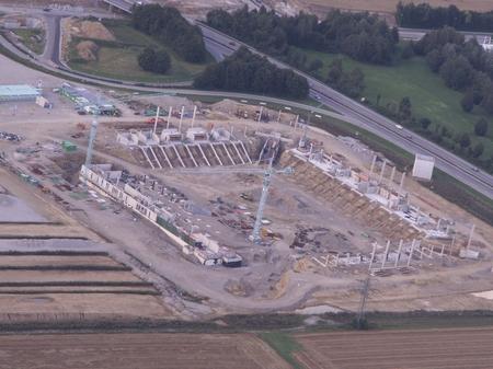 Das neue Stadion des FC Augsburgs - die Impulse Arena