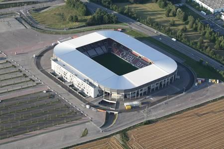 SGL Arena aus der Luft